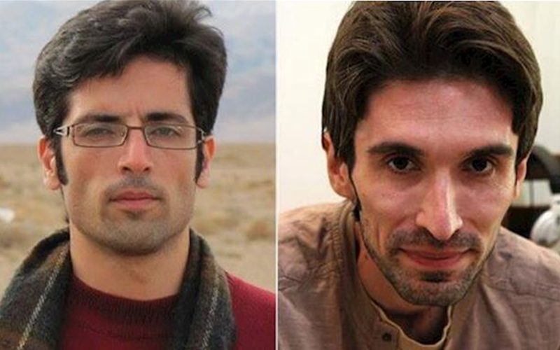 political prisoners Majid Assadi and Arash Sadeghi