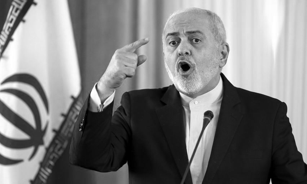 Javad Zarif, the Foreign Minister of the religious dictatorship ruling Iran