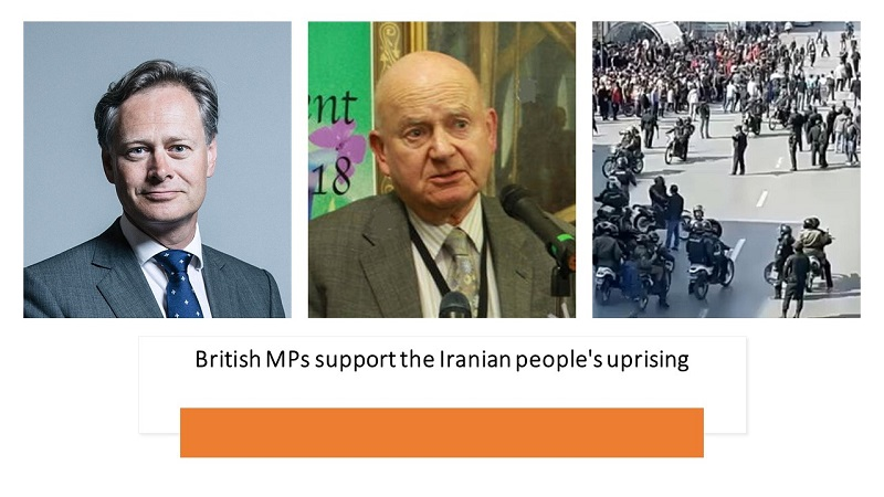 British MPs Support the Iranian People's Uprising