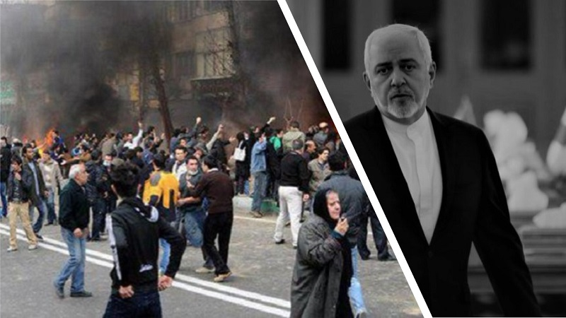 Zarif's Trip to Italy Cancelled as Iran Protests Continue