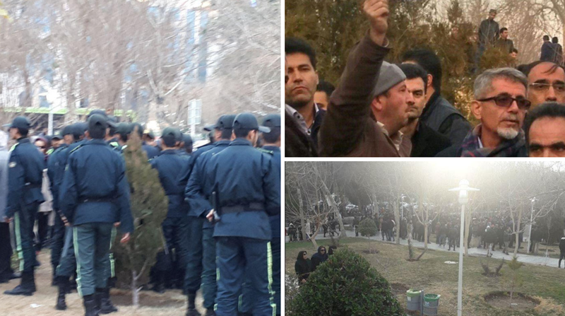 Iran Regime Attacks Peace Protest for Water Rights