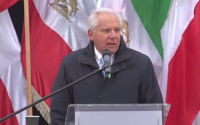 "Robert Torricelli: ""Tomorrow is About Ending Regime in Iran"""