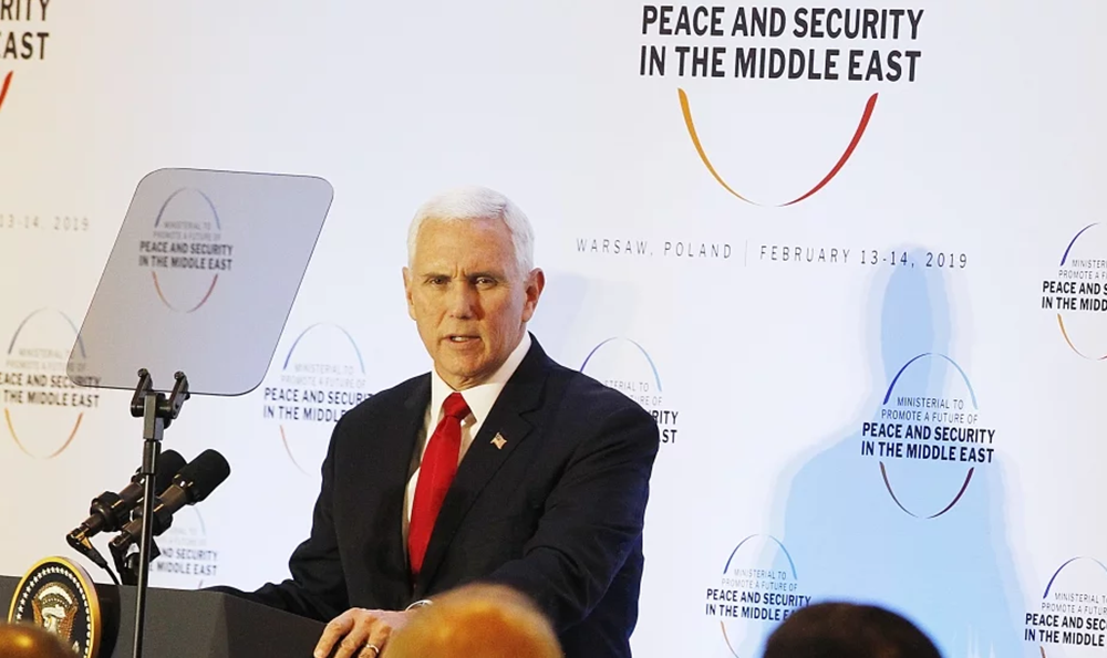 US Vice President Urges EU to Stand With Iranian People