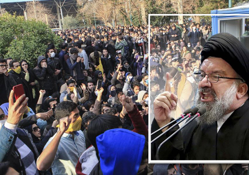 Friday Prayers Leaders Demonstrate That Iran Regime Is Scared of Resistance