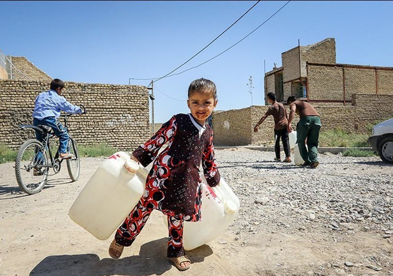 Iran: Huge Portion of Population Faces Lack of Access to Clean Water