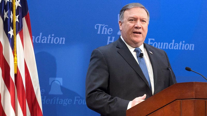 Pompeo: We Must Confront Iran Regime in Middle East