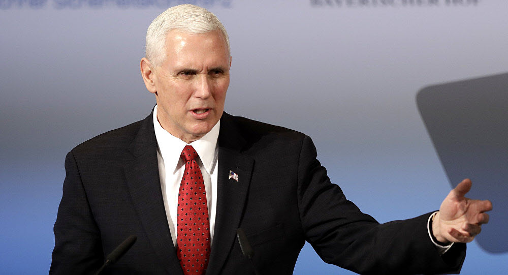 Mike Pence Say US Won't Waver From Maximum Pressure Strategy on Iran