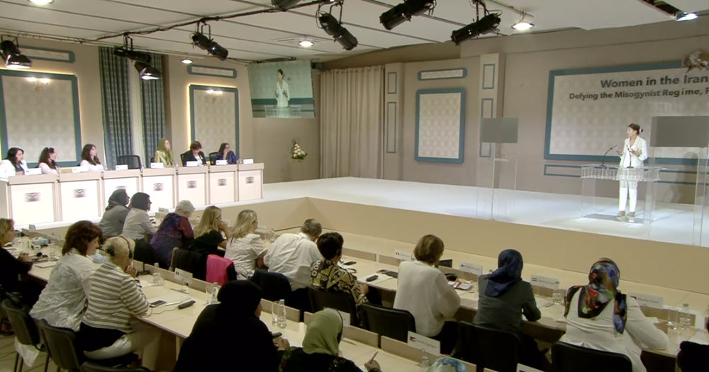 Women's Rights Panel on Day 4 of the Free Iran Convention at the MEK's Headquarters
