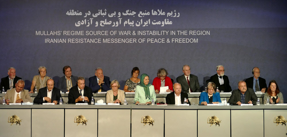 Iranian Regime, Source of Regional War and Instability. Iranian Resistance, Messenger of Peace and Freedom