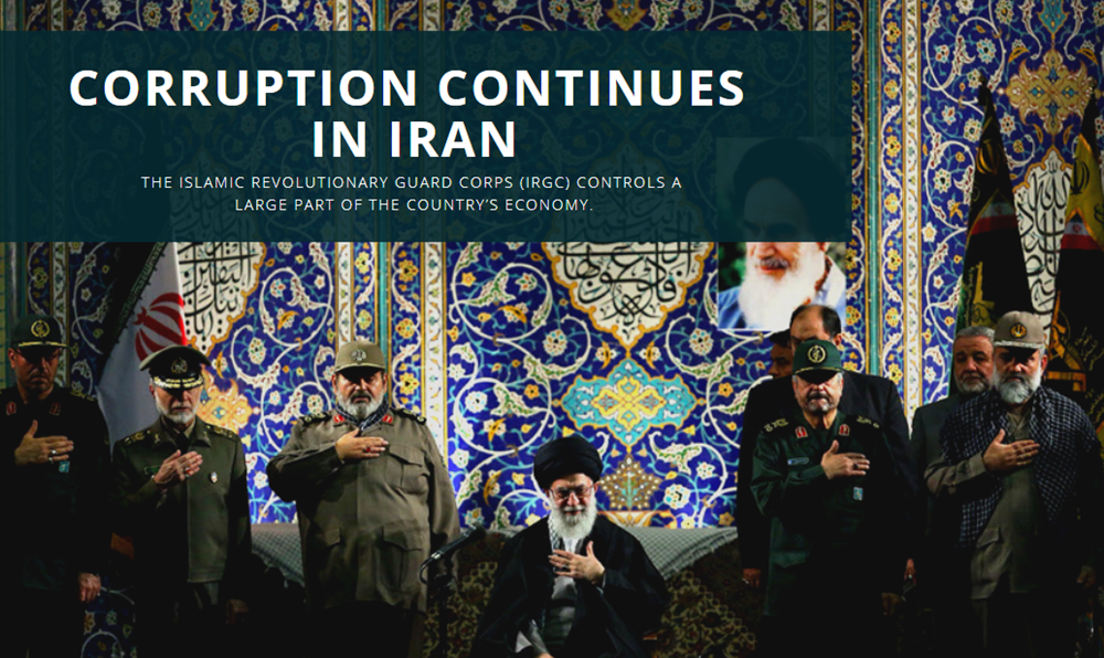 Corruption Continues in Iran