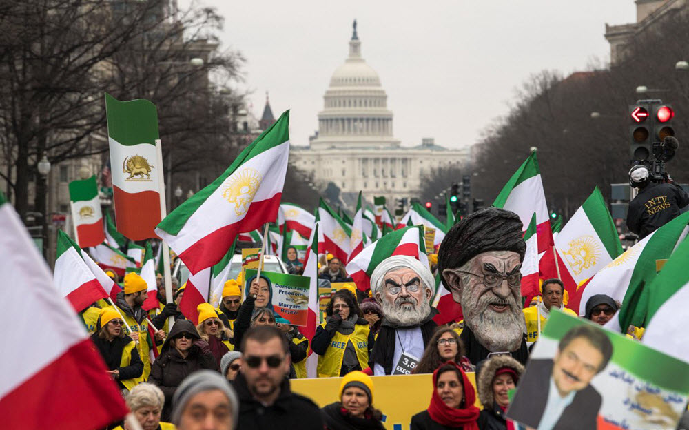 Powerful Display of Support for Iran Opposition in Washington March
