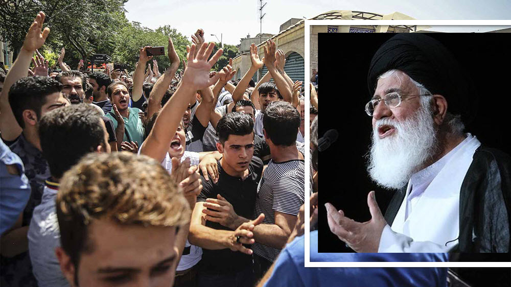 Top Iranian Cleric Warns of Uprising in 2019