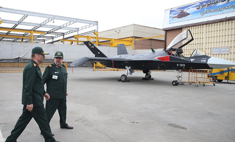 Iran Regime's Stealth Fighter Appears to Be a Joke