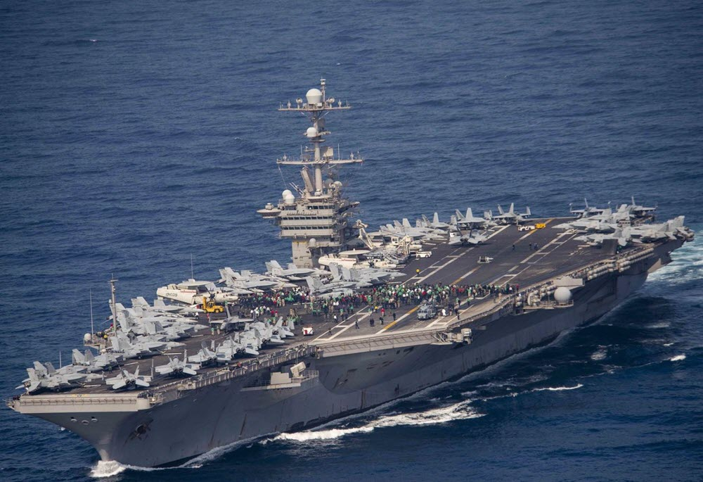 Can Iran Regime Take on America's Aircraft Carriers in a ...