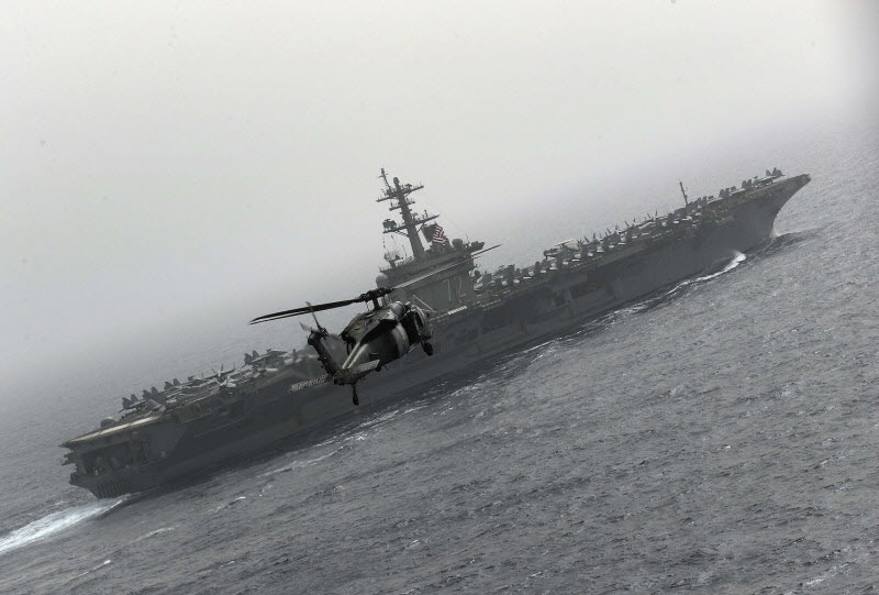 US Strike Group Arrives in Mid-East to Counter Iran Regime's Threat