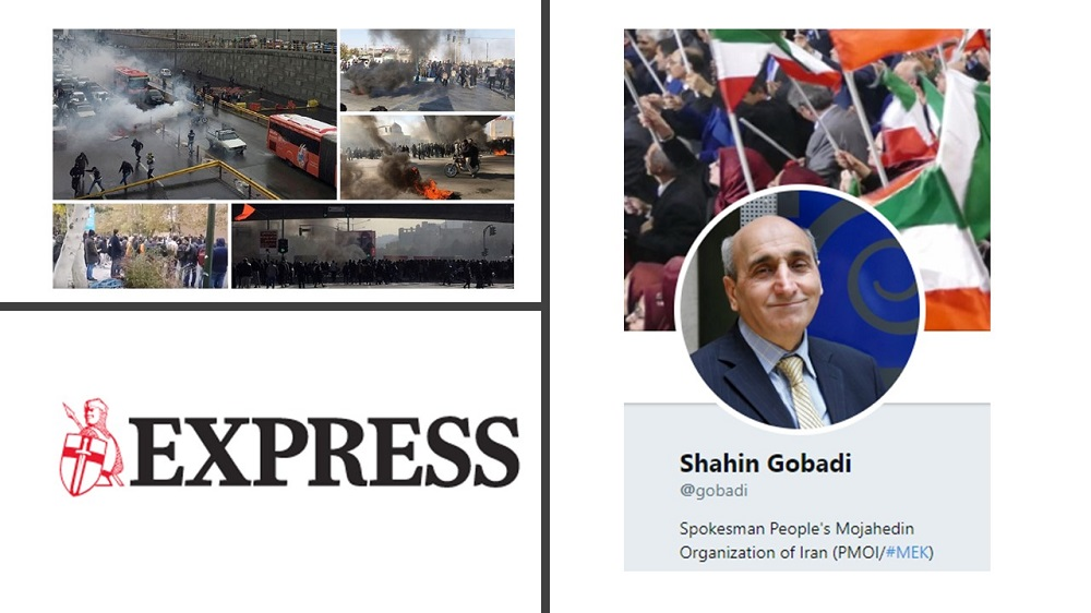 Demand of Iran Protests Is Overthrow of Iran's Regime - NCRI's Shahin Gobadi Tells the Express