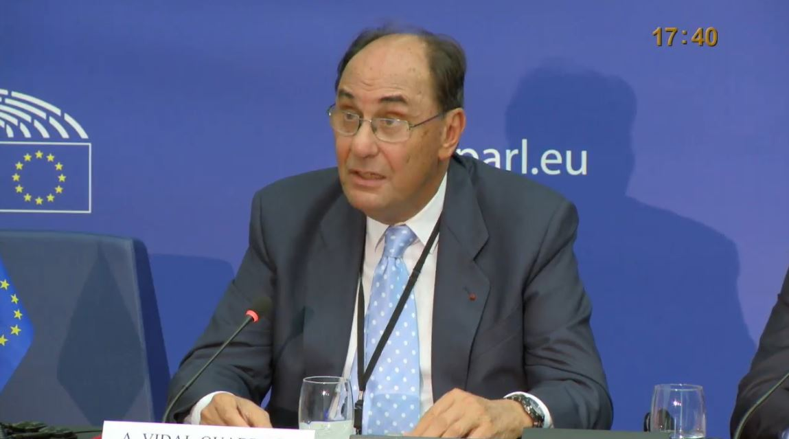 Dr. Alejo Vidal-Quadras, former Vice President of the European Parliament