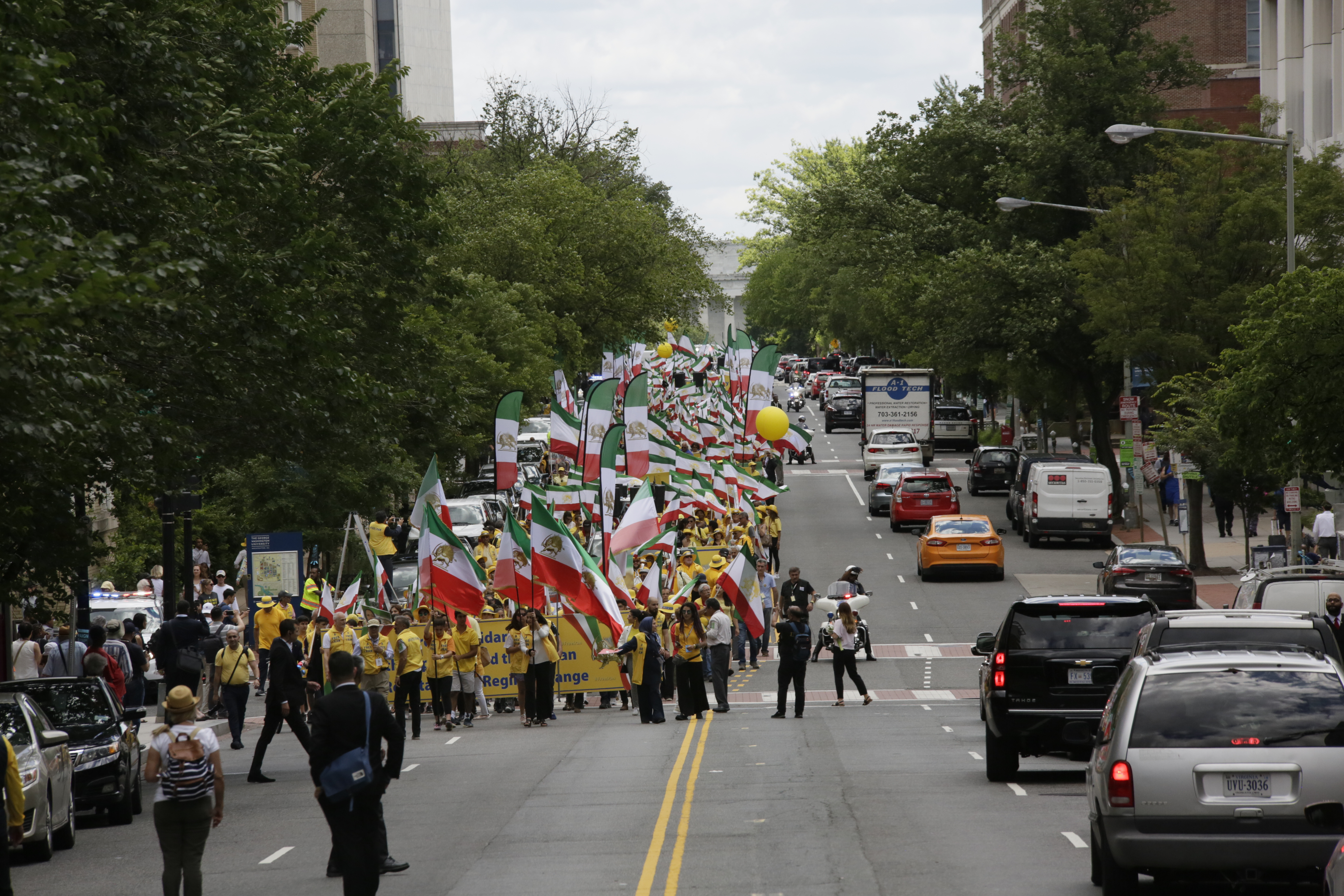 Free Iran Rally - Washington D.C.- June 21, 2019- Over ten thousand supporters of the National Council of Resistance of Iran (NCRI) demonstrated in support of Iran uprisings for freedom and democracy in Iran