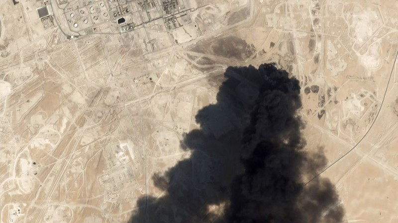Damage from Iran-linked attack on Saudi oil facility