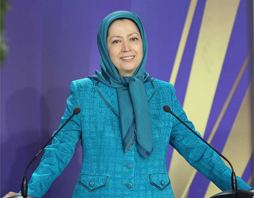 Maryam Rajavi, the President-elect of the National Council of Resistance of Iran (NCRI), Speaking at the Free Iran rally-Ashraf 3, Albania- July 13, 2019