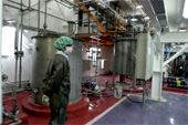 An Iranian technician inside a Uranium Conversion Facility (UCF) in Isfahan, Iran. (AFP/Getty Images)