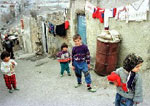 Children living in poor condition in Iran