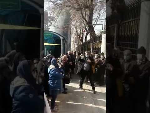 تجمع اعتراضی مالباختگان تعاونی مسکن دانشگاه تهران