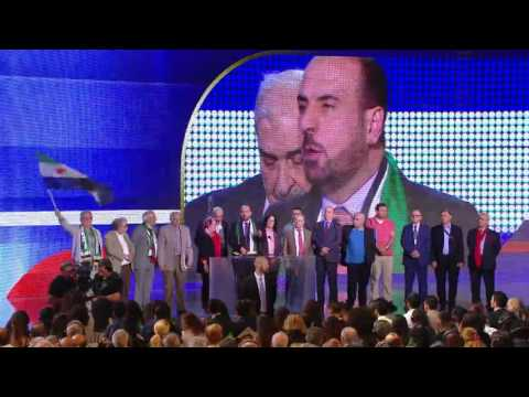 Grand Gathering of Iranians for #FreeIran 1st July 2017/-/Nasr Al-Hariri from the Syria