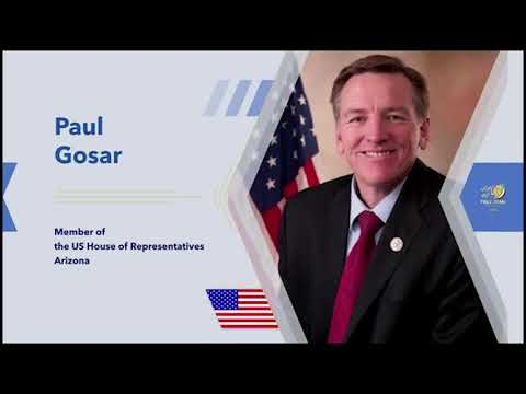 Remarks by Paul Gosar from Arizona, to the Free Iran Global Summit – July 17, 2020