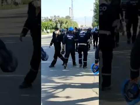 اعتصاب سراسری شرکتهای تابعه پارس جنوبی توسط کارگران معترض پروژههای نفت گاز پارسجنوبی