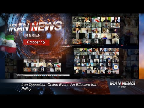 Iran news in brief, October 15, 2020