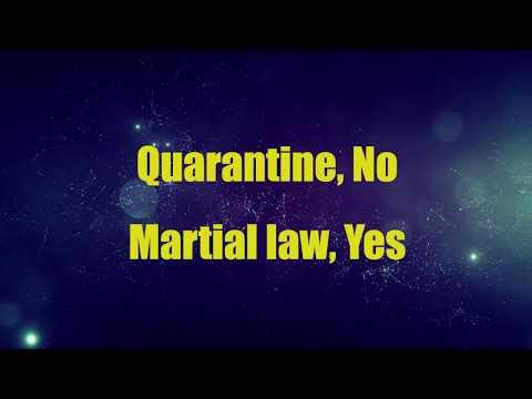 Coronavirus outbreak in Iran: Quarantine or Martial law