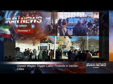Iran news in brief, December 7, 2020