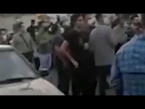 تظاهرات مردم اسلامشهر در اعتراض به قطع شدن ۸ ساعتهی برق با شعار مرگ بر دیکتاتور