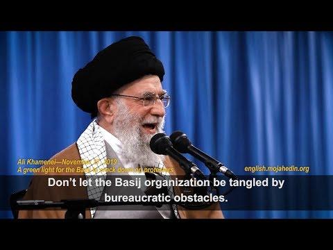 Supreme leader Ali Khamenei orders slaughter of demonstrators after Iran protests 2019
