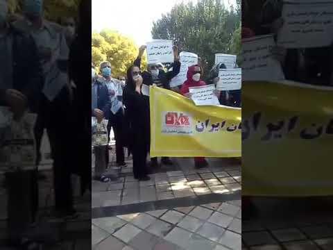 تهران -تجمع سراسری معلمان و فرهنگیان در شهرهای میهن-۲۲مهر۱۴۰۰