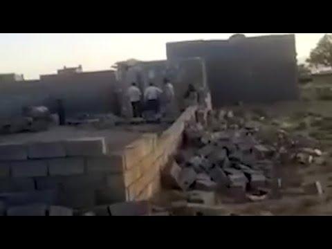 سکته یک زن مسن از هموطنان بلوچ پس از تخریب خانهاش