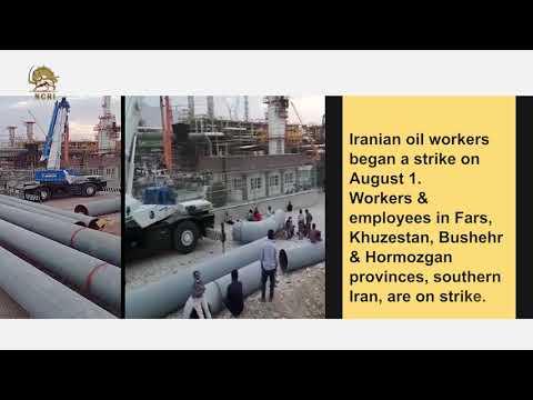 Iran: Oil-gas industry workers on strike