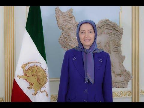 مریم رجوی: ایران شورشگر بهپا میخیزد - Maryam Rajavi: Iran Rises Up in Revolt