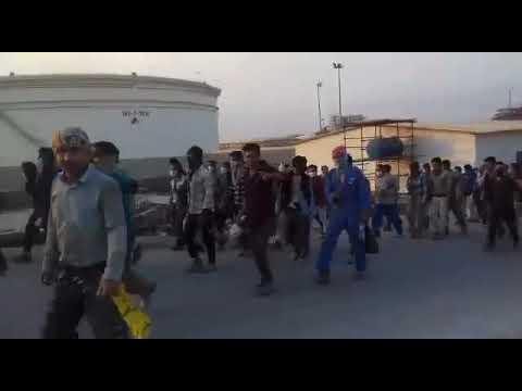 اعتصاب مجدد کارگران پروژهیی شرکت IGC شاغل در فاز ۱۴ عسلویه