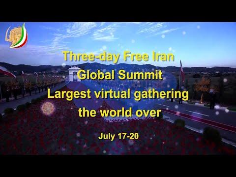 Three day Free Iran Global Summit 2020 Largest virtual gathering the world