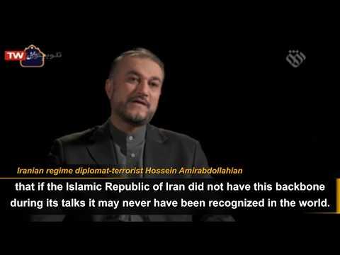 Iranian regime's diplomacy is relying on terrorism, says diplomat-terrorist Amirabdollahian