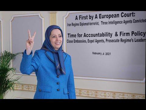 Maryam Rajavi: Conviction of mullahs' diplomat