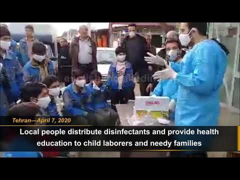 Iran coronavirus news: Popular Councils help child laborer in Tehran