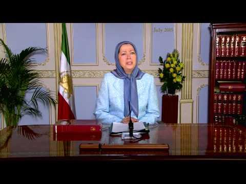 Message of Maryam Rajavi to Christian Leaders 12 July 2015
