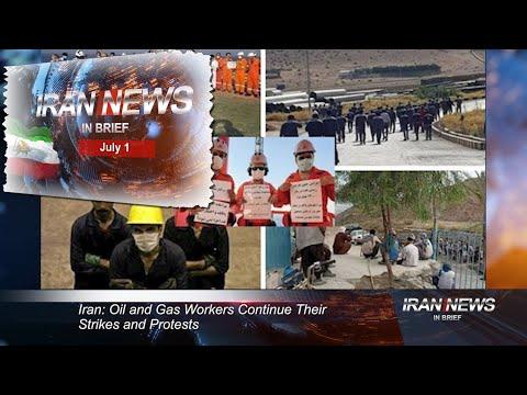 Iran news in brief, July 1, 2021