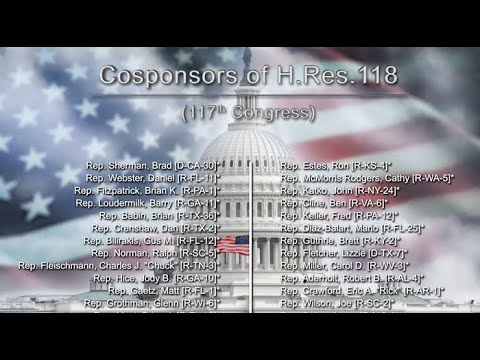 Cosponsors of H.Res 118 in 117th Congress as of March 3, 2021
