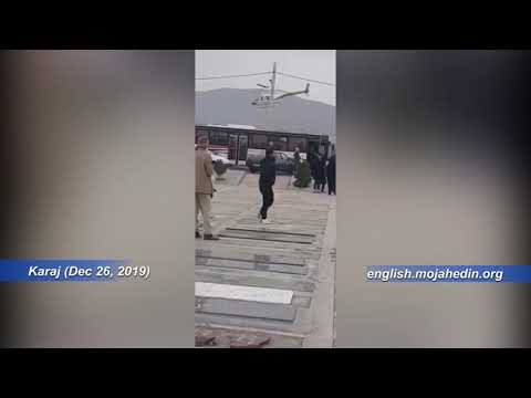 Iran protests: Security forces attack mourners in Karaj, use helicopters to prevent demonstrations