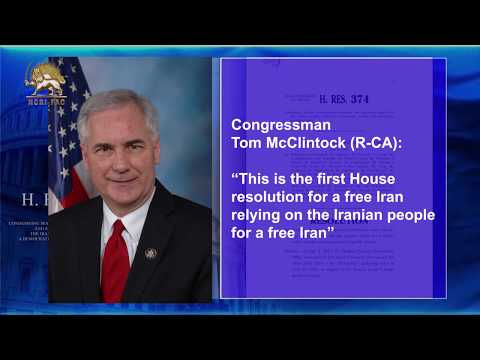 221 U.S. lawmakers presented H. Res. 374 in support of the Iranian people and their resistance.