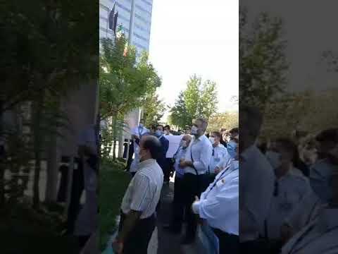 تجمع کارکنان و بازنشستگان شرکت هواپیمایی «هما»